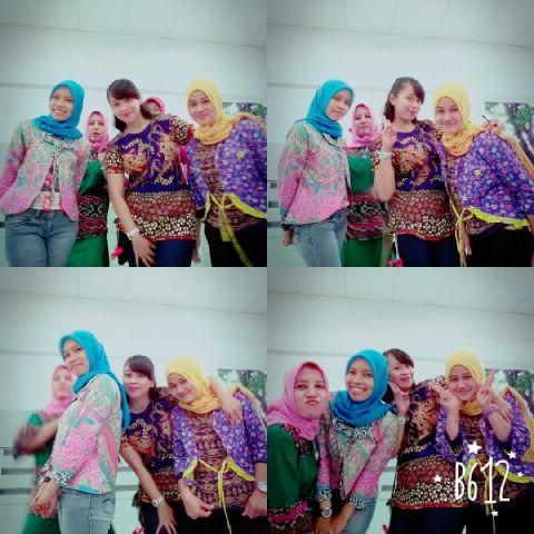 colorful batik