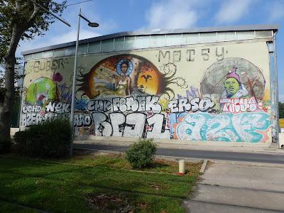 Auftragsarbeit in Montpellier - gecrossed...