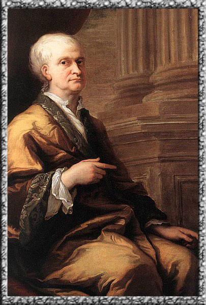Foto Isaac Newton dalam usia senja