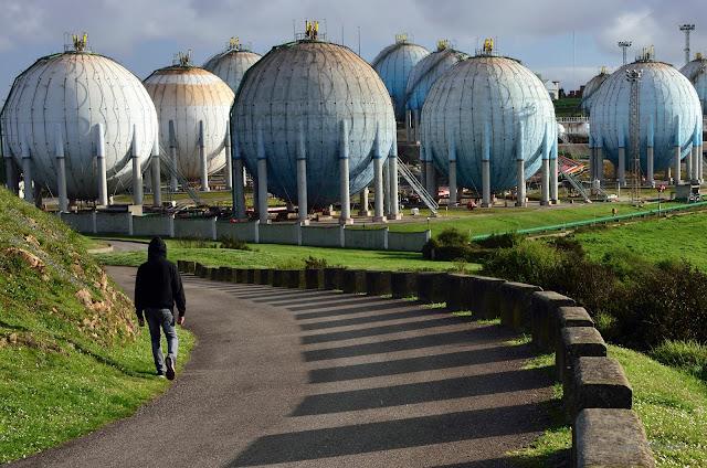 Depósitos gases licuados petróleo Campa Torres Gijón
