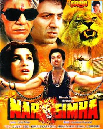 Narsimha 1991 Hindi 480p HDRip 500mb