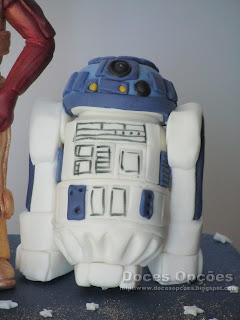 bolo aniversário R2-D2 Star Was