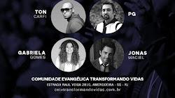 """""""Você Adora nas Igrejas' com Gabriela Gomes, Ton Carfi, PG e Jonas Maciel"""