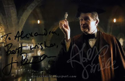 Jim Broadbent  autograph Horacy Slughorn Autograf Harry Potter