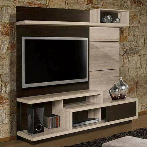 20 Modern Living Room Contemporary Entertainment Wall TV