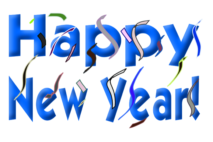 Happy New Year 2016 Clip Art Images for Google Plus