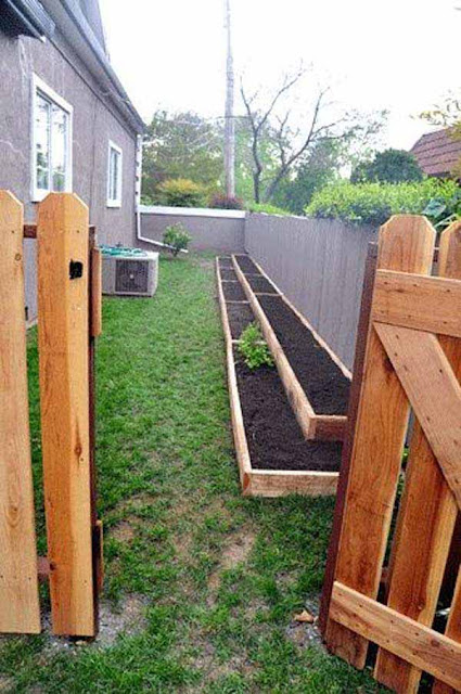 5 Amazing Ideas To Use Your Narrow Side Yard