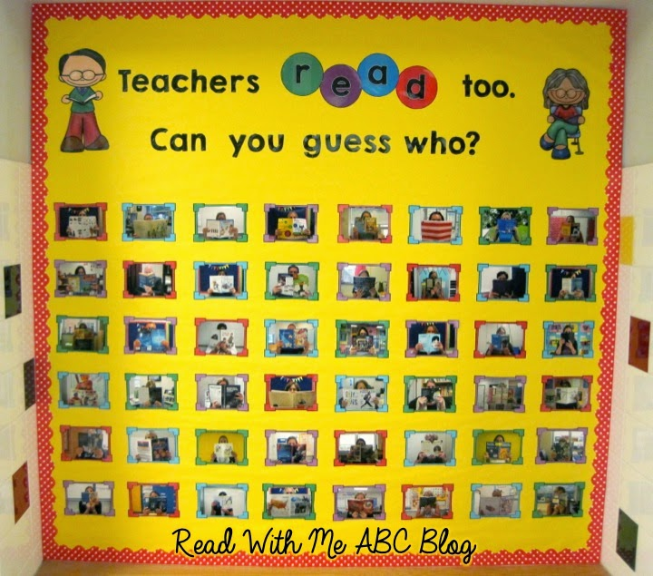 Read With Me Abc Guess Who Bulletin Board Amp Freebie
