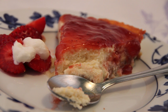 tarta-de-queso-fresco-con-fresas, strawberry-jam-cheesecake