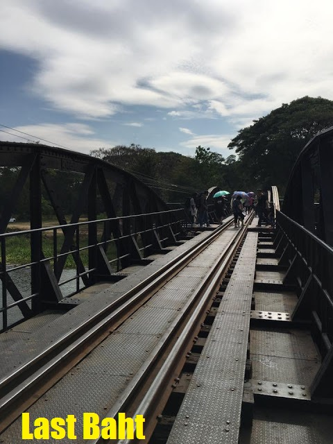 crossing the Bridge on the River Kwai