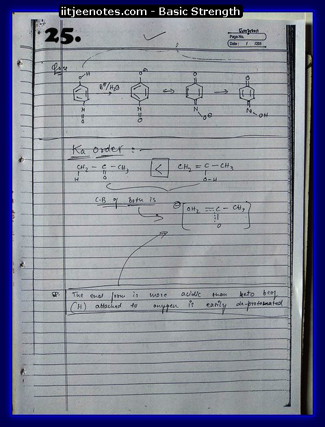 basic strength notes iitjee2