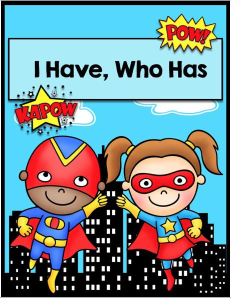 Winner Wednesday: Multiplication Superheroes Bundle - Hedgehog Reader