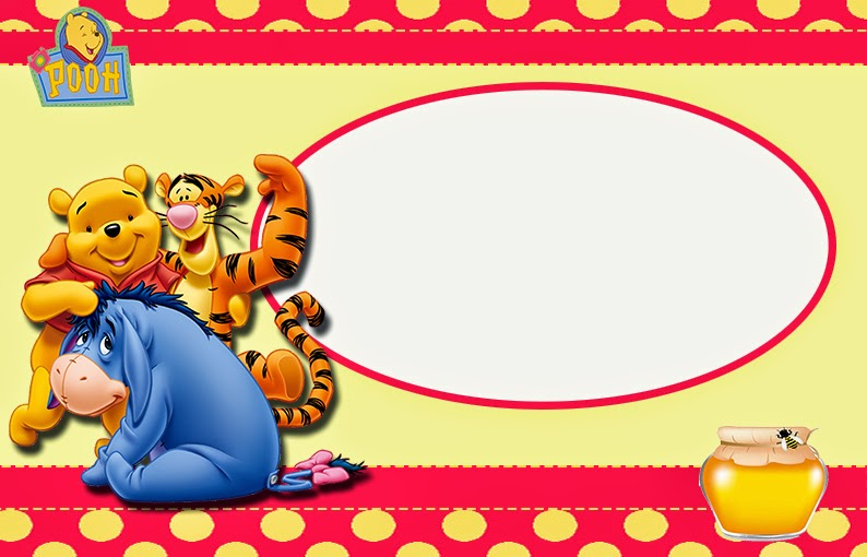 winnie the pooh party free printable