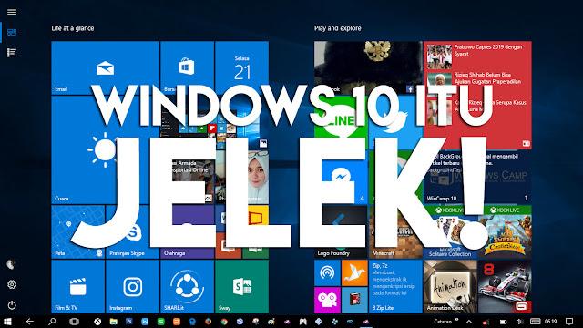 8 Hal yang Membuat Windows 10 itu Jelek, Banget!