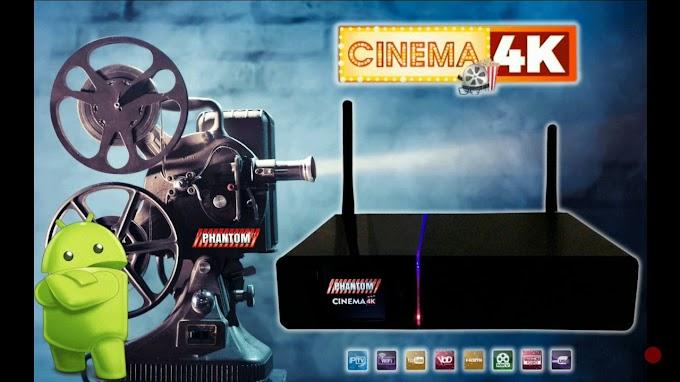PHANTOM CINEMA 4K NOVA ATUALIZAÇÃO V 2.0.5.10 - 30/07/2019