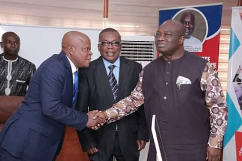 Show commitment to the assignment of taking Abia to the next level - @GovernorIkpeazu charged new Permanent Secretaries.