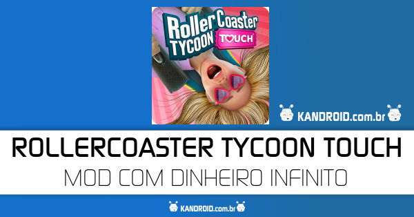 RollerCoaster Tycoon Touch v2.0.2 Apk Mod [Dinheiro]