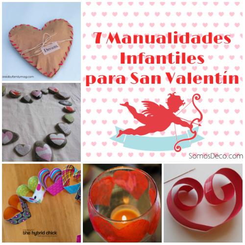 7 Manualidades Para San Valentin Infantiles Somosdeco Blog De - Decoracion-san-valentin-manualidades