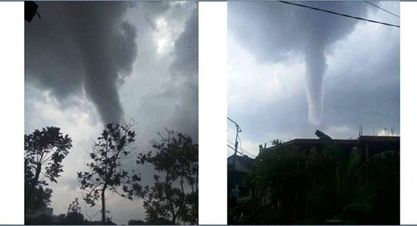 Angin Puting Beliung Menimpa Yogyakarta Selasa 24 April 2018