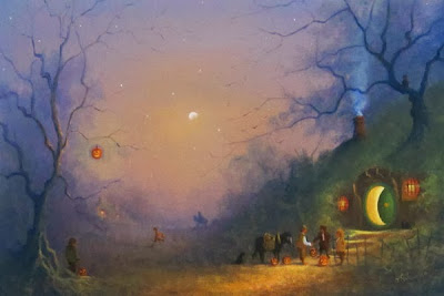 """The Pumpkin Seller"" by Joe Gilronan"