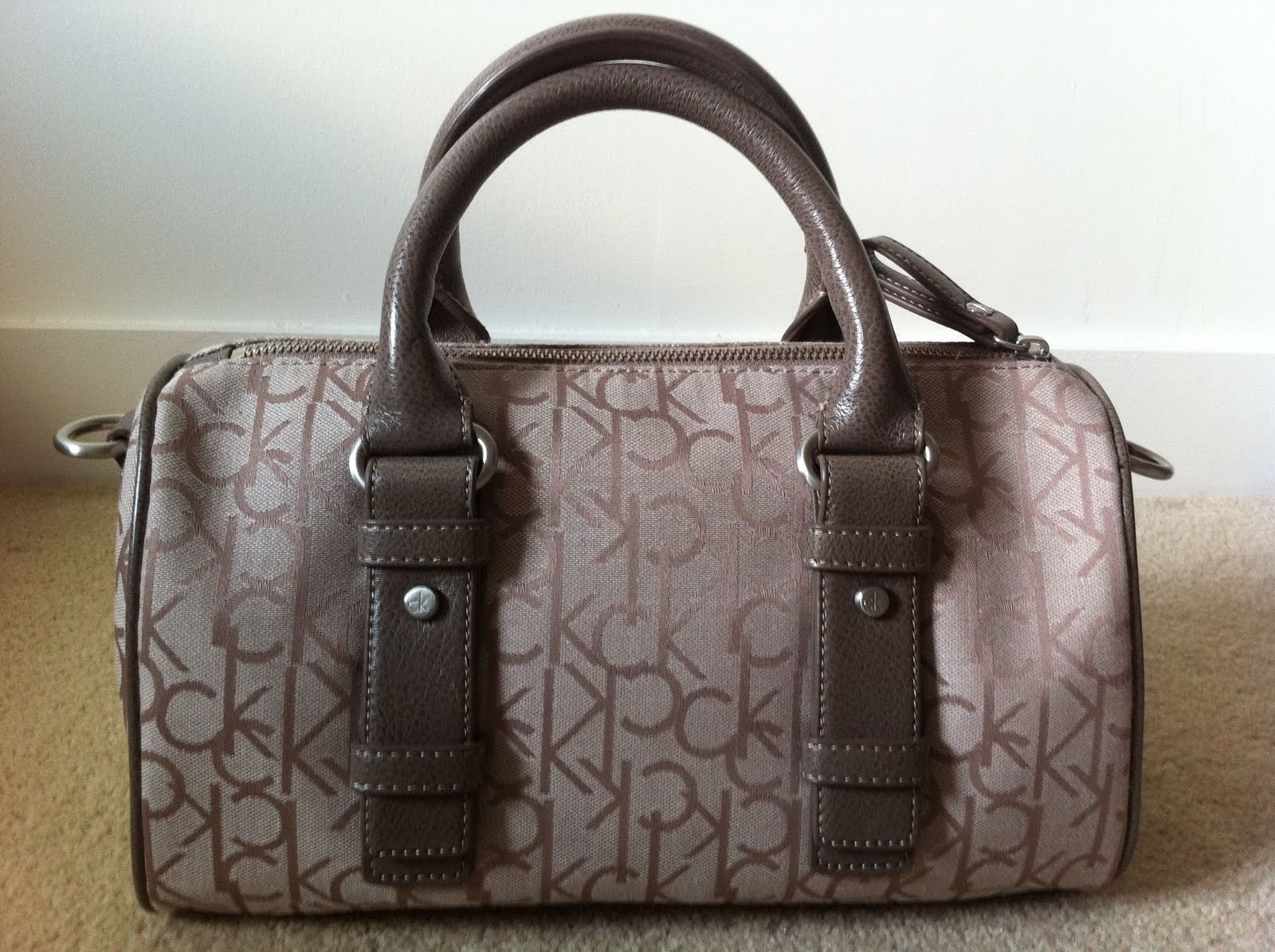 Discounted Genuine Handbags: (SOLD) Calvin Klein Handbag ...