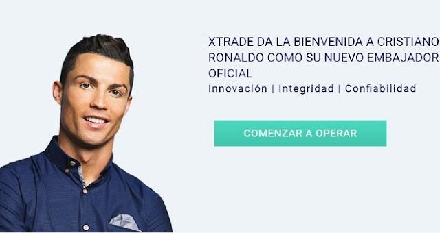 XTrade invierte en Ronaldo