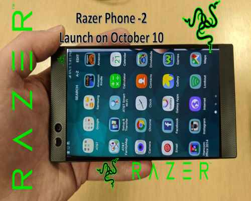 Razer Phone -2 Launch