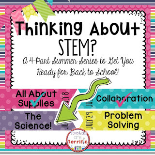 STEM Summer Series: This week's post is all about the science behind STEM tasks! It's a hand-on learning adventure!