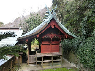 館山:洲崎神社本殿