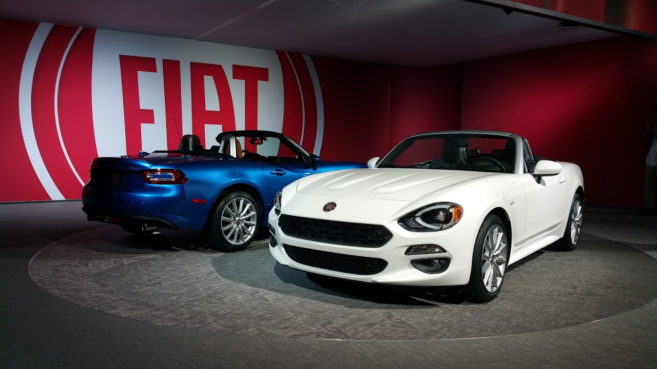 Amazing US Fiat 124 Spiders
