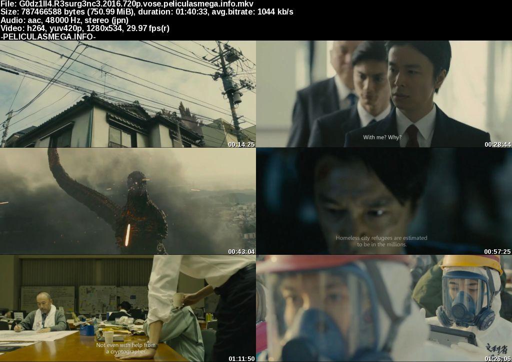 Descargar Shin Godzilla Subtitulado por MEGA.