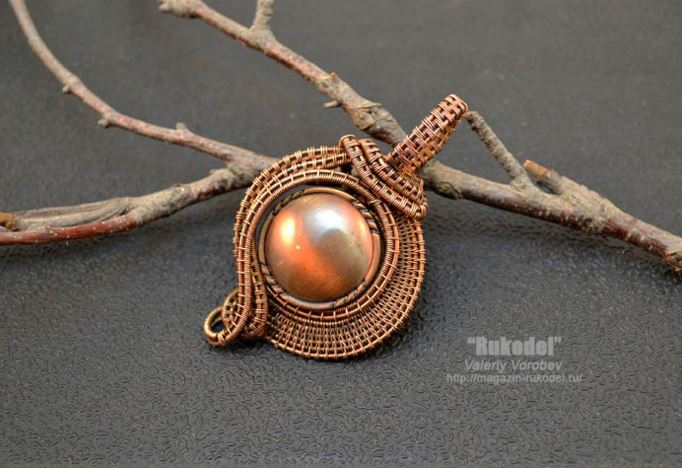 Advanced Copper Wire Woven Jewelry Tutorial Inspirations - The ...