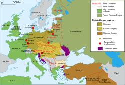 Peta perubahan wilayah setelah Perang Dunia 1 - berbagaireviews.com
