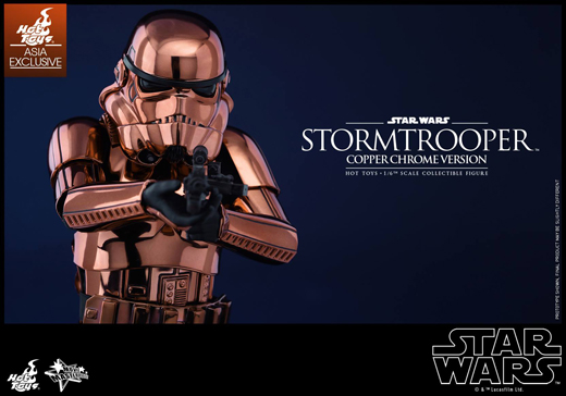 CHOCOOLATE  1/6 Stormtrooper (Copper Chrome Version)