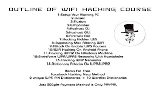 Dedsec Wifi Hacking Course contents