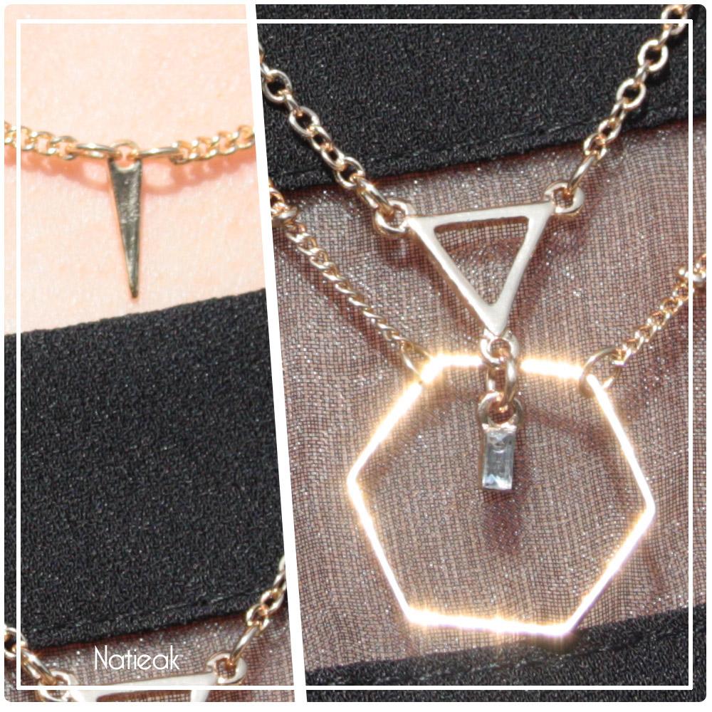 bijoux géométrique