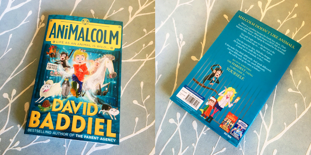 My Boys Club review AniMalcolm a children's book by David Baddiel now out in paperback.