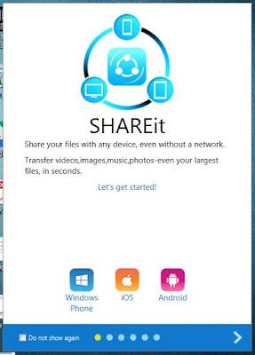 Download Shareit for windows xp/7/8/10 pc | Shareit कंप्यूटर के लिए