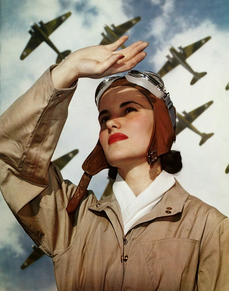 A Vintage Nerd Vintage Blog Link to Love Vintage Articles Women in WWII