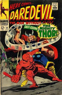 Daredevil #30, Thor