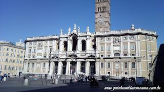 Fachada da Basílica de Santa Maria Maior