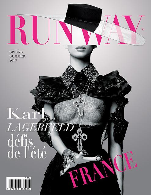 Runway Magazine Cover 2013