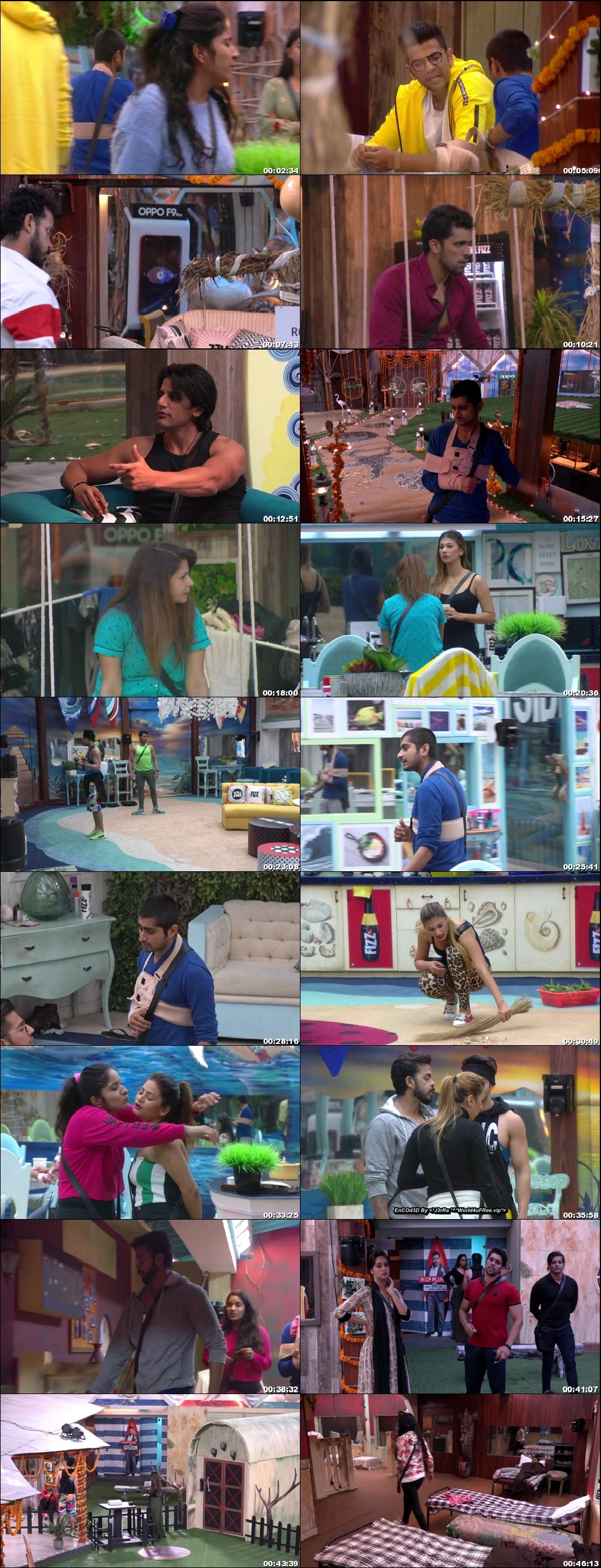 Screenshots Of Hindi Show Bigg Boss 12 6th November 2018 Episode 51 300MB 480P HD