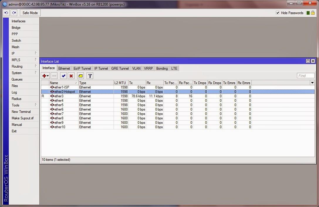Hotspot Configuration in Mikrotik | Blog Raspati
