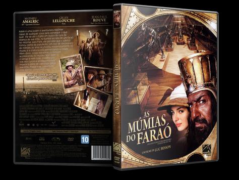 Capa DVD As Múmias do Faraó