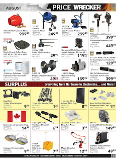 Princess Auto Flyer August 1 to 31, 2017