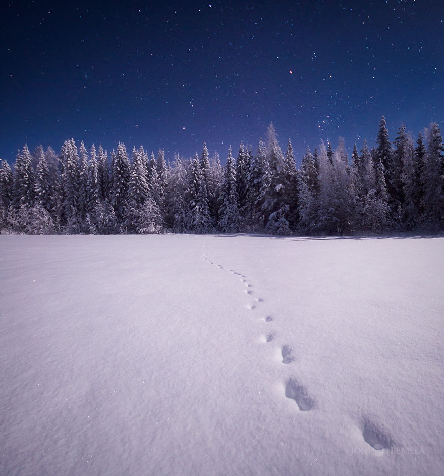 I Captured The Finnish Night Sky - Snow Addiction - News