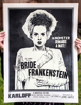 new flesh bride of frankenstein poster