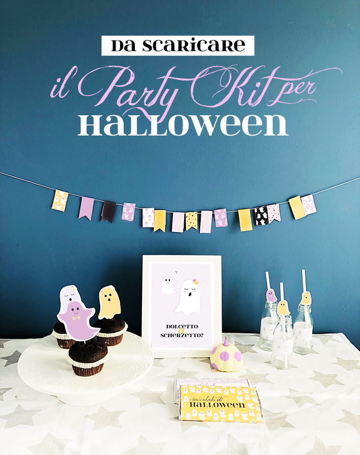 party kit di halloween da scaricare