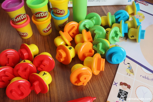 play doh touch instructions